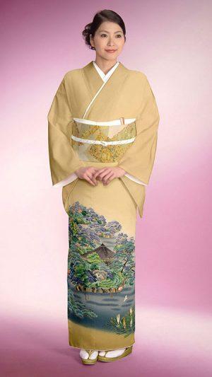 お宮参り母親の着物 色留袖