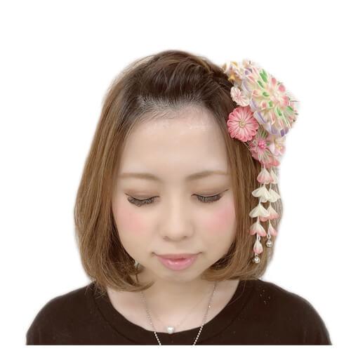 王道・ボブスタイルのおでこ出しバージョン 【成人式・振袖の髪型~ボブ編】