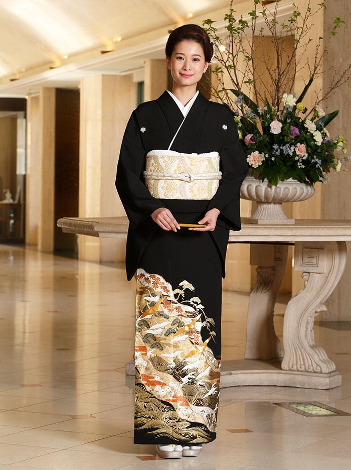 黒留袖 レンタル フルセット 結婚式 着物 和装